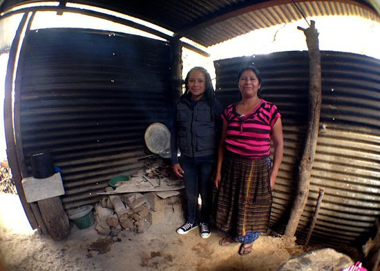 Sandy and mom